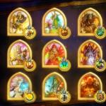Изображения золотых героев в Hearthstone