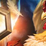 Злая курица арт рейтинг игроков Hearthstone