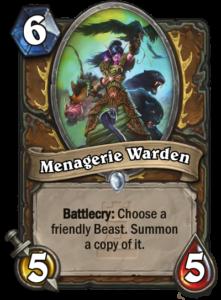 Menagerie-Warden