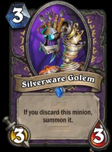 Silverware-Golem