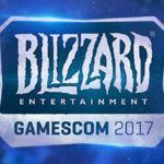 Blizzard на gamescom 2017