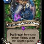 Новая карта Охотника: Abomination Archer