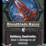Новое оружие Воина: Bloodblade Razor