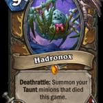 Новая легендарка Друида: Hadronox