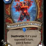 Новое существо воина: Mountainfire Armor