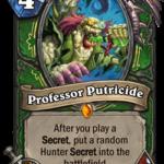 Новая легендарная карта Охотника: Professor Putricide