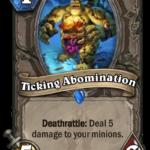 Анонсирована новая карта: Ticking Abomination