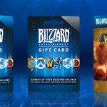 Подарочные карты Blizzard