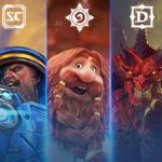 Праздничная распродажа игр BLIZZARD и ACTIVISION