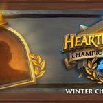 Получите бустер Hearthstone за выбор бойца зимнего чемпионата HCT!