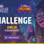 Анонсирован турнир Twitch Rivals Team Arena Challenge