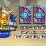 Во время плей-офф 1-го сезона Grandmasters покажут 3 новые карты «Спасителей Ульдума»