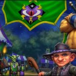 Ярмарка Новолуния арт World of Warcraft