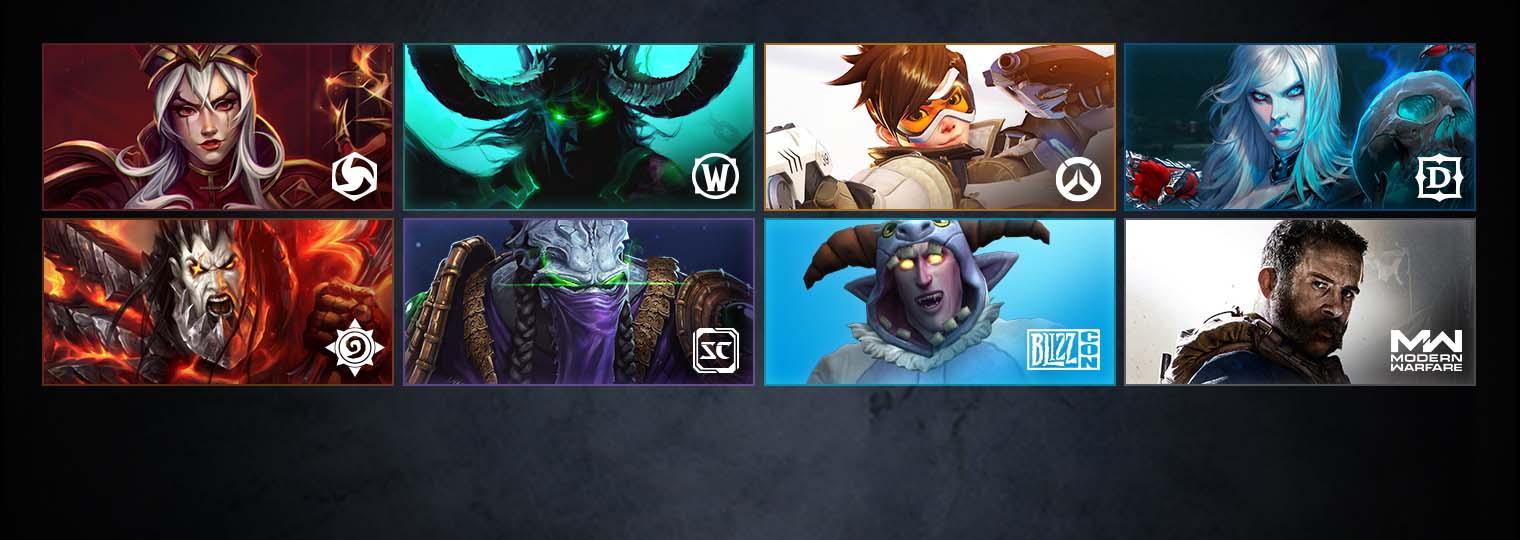 Черная пятница игры Blizzard