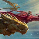 График анонсов новых карт «Натиска драконов»