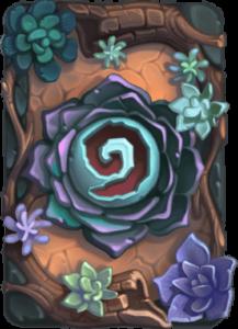 Пустынный цветок рубашка для карт Hearthstone