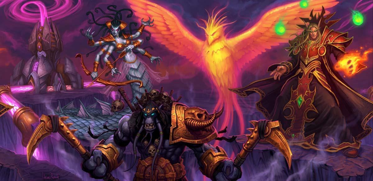 Запределье Кель'тас Солнечный Скиталец арт World of Warcraft