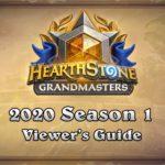 Памятка для зрителей 1-го сезона Hearthstone Grandmasters 2020
