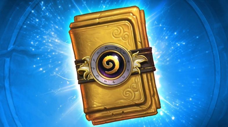 Золотой комплект карт бустер Hearthstone
