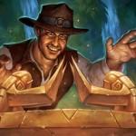 Легендарные карты Hearthstone: Харрисон Джонс - герой, который всегда, всех посылает... в зал исследователей