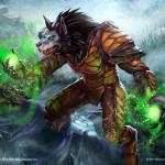 Дека Друида на драконах и Буйном росте