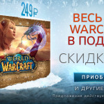 Зимняя распродажа: скидки на игры Blizzard 30%