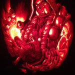 Хеллоуин 2016: конкурс резьбы по тыкве