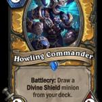 Новая карта Паладина: Howling Commander
