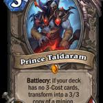 Новое нейтральное легендарное существо: Prince Taldaram