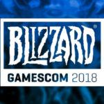 Blizzard на gamescom 2018