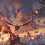 Натиск драконов арт Hearthstone